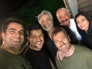 عکس | چهره خندان حامد بهداد در کنار سعید راد