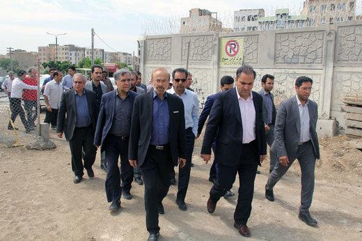 بازدید شهردار کرج از پروژه زیرگذر ماهان-باغستان