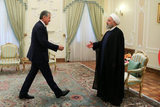 دیدار وزیر امور خارجه تاجیکستان با رئیسجمهور