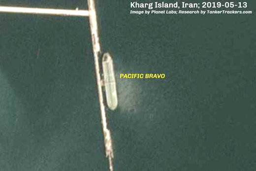 خط شکن تحریمهای آمریکایی، نفت ایران را بارگیری کرد