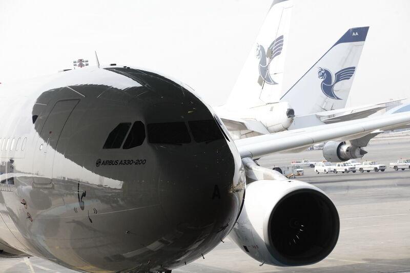 سوخت رسانی به هواپیماهای ایرانی
