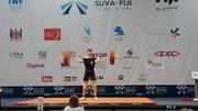 هشتمی اولین وزنهبردار ایران در فیجی