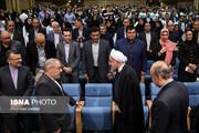 تصاویر | دیدار صمیمی رئیسجمهور با ورزشکاران و قهرمانان ملی
