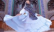 تصاویر | مدل زیباروی اروپایی در اماکن توریستی ایران