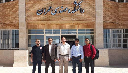 دانشجویان خارجی دانشکده مهندسی عمران دانشگاه سمنان به ۲۰ نفر افزایش یافت