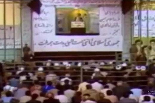 فیلم | انتقاد رهبر انقلاب به اختیارات کم رئیس جمهور در سال ۶۸