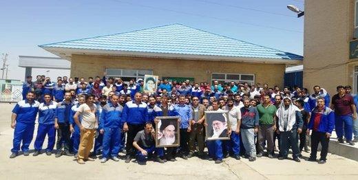 اعتصاب کارگران کاغذ پارس هفتتپه تمام شد