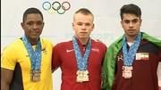 نخستین مدال ایران در جوانان جهان