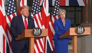 ترزا می در نشست خبری با ترامپ: ما همچنان به برجام پایبند هستیم
