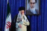 تصاویر | رهبر انقلاب در اجتماع عظیم مردم در سیامین سالگرد رحلت امام(ره)