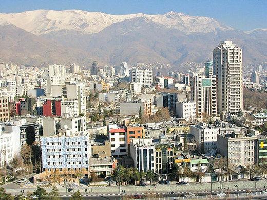 قیمت آپارتمان دوخوابه در شهر تهران/جدول