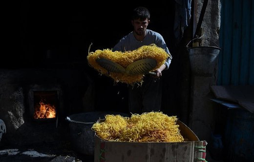 بازار عید فطر در شهر کابل افغانستان