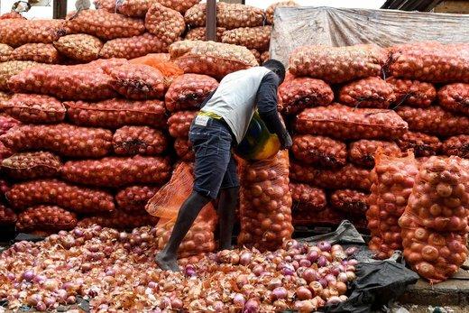بازار عید فطر در شهر داکار سنگال