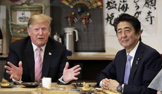 زيارة رئيس وزراء اليابان لطهران وفرض الحظر علی البتروکيمياويات