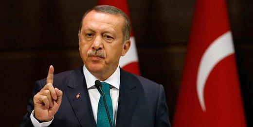 اردوغان: آمریکا سلاح به ما نمیفروشد به تروریستها میبخشد