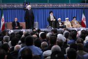 تصاویر | دیدار مسئولان، سفرای کشورهای اسلامی و جمعی از مردم  با رهبر انقلاب