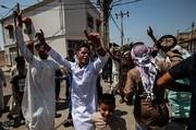 تصاویر | رقص خاص اهوازیها بعد از نماز عید فطر