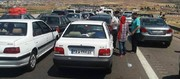 عکس | ترافیک سنگین اتوبان قزوین-رشت