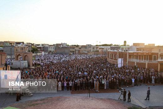 اقامه نماز عید فطر در اردبیل