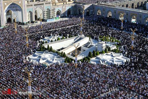 اقامه نماز عید فطر در مشهد
