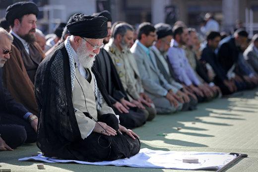 اقامه نماز عید سعید فطر در مصلای امام خمینی (ره)
