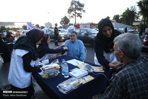 طرح ملی کنترل فشار خون در حاشیه نماز عید سعید