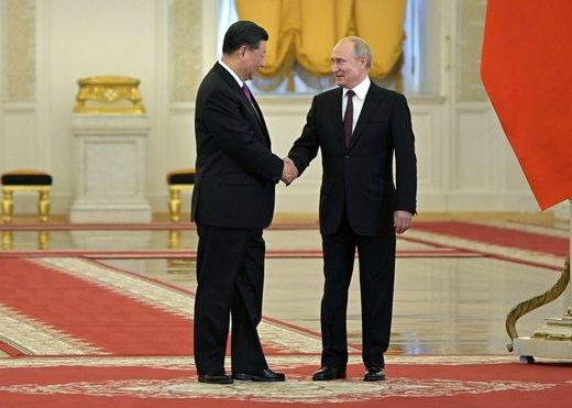 پوتین و رئیس جمهور چین درباره ایران چه گفتند؟
