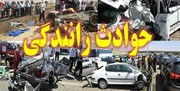 فوت ۴ نفر در تصادف کامیون و سمند در اردبیل