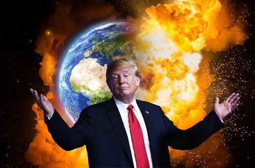 آتش جنگ تجاری ترامپ، اقتصاد دنیا را سوزاند