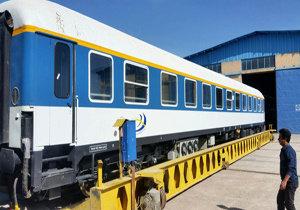 بازسازی گسترده واگنهای قطار مسافربری و آمادگی برای سرویسدهی به مسافران