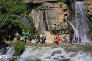 تصاویر | تفریح مسافران در گنجنامه همدان