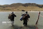 تصاویر | حال و روز محیطبانان پارک ملی دریاچه ارومیه