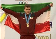 حسینی: تشکر میکنم از همه کسانی که از مدال نقره من خوشحال شدند