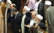 تصاویر چند چهره سیاسی و نظامی در صف نماز جمعه تهران