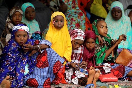 جشن عید فطر در شهر آبوجا نیجریه
