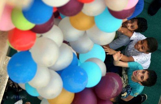 جشن عید فطر در شهر قاهره مصر