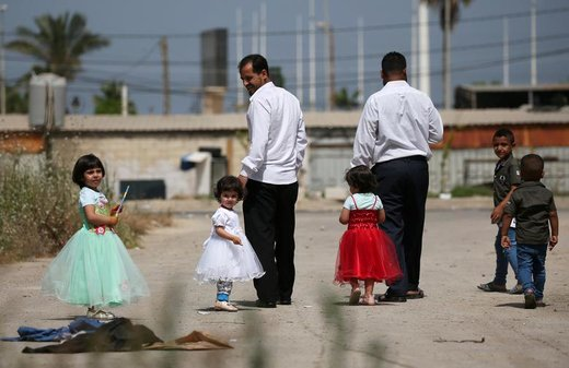 کودکان پناهنده سوری در شهر صیدا لبنان