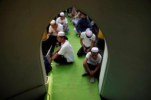 جشن عید فطر در شهر شانگهای چین