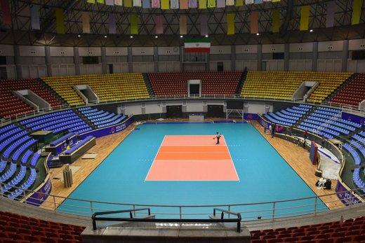 یکشنبه ۱۹ خرداد آغاز بلیتفروشی اینترنتی هفته سوم لیگ ملتهای والیبال
