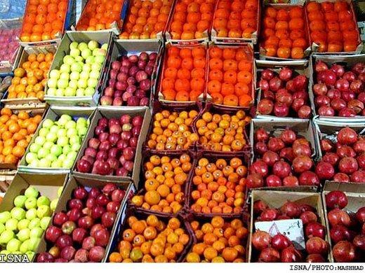 کاهش قیمت میوه در میادین میوه و ترهبار