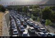 اولین روز بعد از تعطیلات، ترافیک جاده چالوس و هراز همچنان سنگین