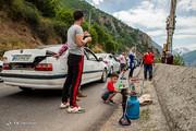تصاویر | لذت رنجآوری به نام جاده چالوس!