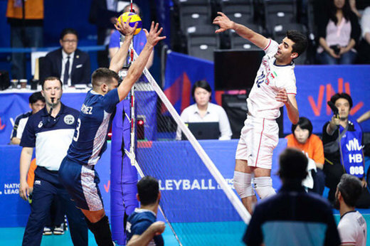 Argentina fails to cope with Iran's volleyball team