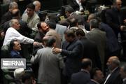 تصاویر | وزرای روحانی به جلسه علنی مجلس رفتند
