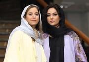 عکس | پریناز ایزدیار و ستاره پسیانی در اکران فیلم «سرخپوست»