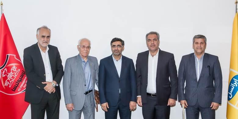 نشست مشترک مدیران پرسپولیس و ایرانسل