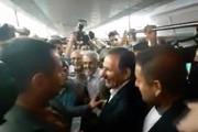 فیلم | اسحاق جهانگیری با مترو به نهاد ریاست جمهوری رفت