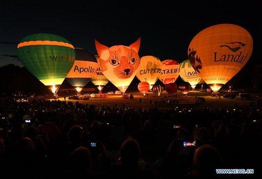 فستیوال بالنهای هوای گرم در آلمان
