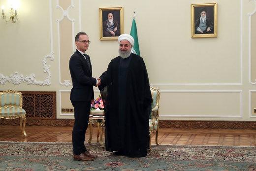روحانی به وزیرخارجه آلمان: اروپا باید به تعهدات خود در برجام عمل کند