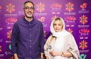 عکس   امیرمهدی ژوله و همسرش در اکران خصوصی فیلم سامورایی در برلین